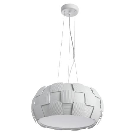 Подвесной светильник Divinare Beata 1317/11 SP-5, 5xE27x24W, белый, металл, пластик