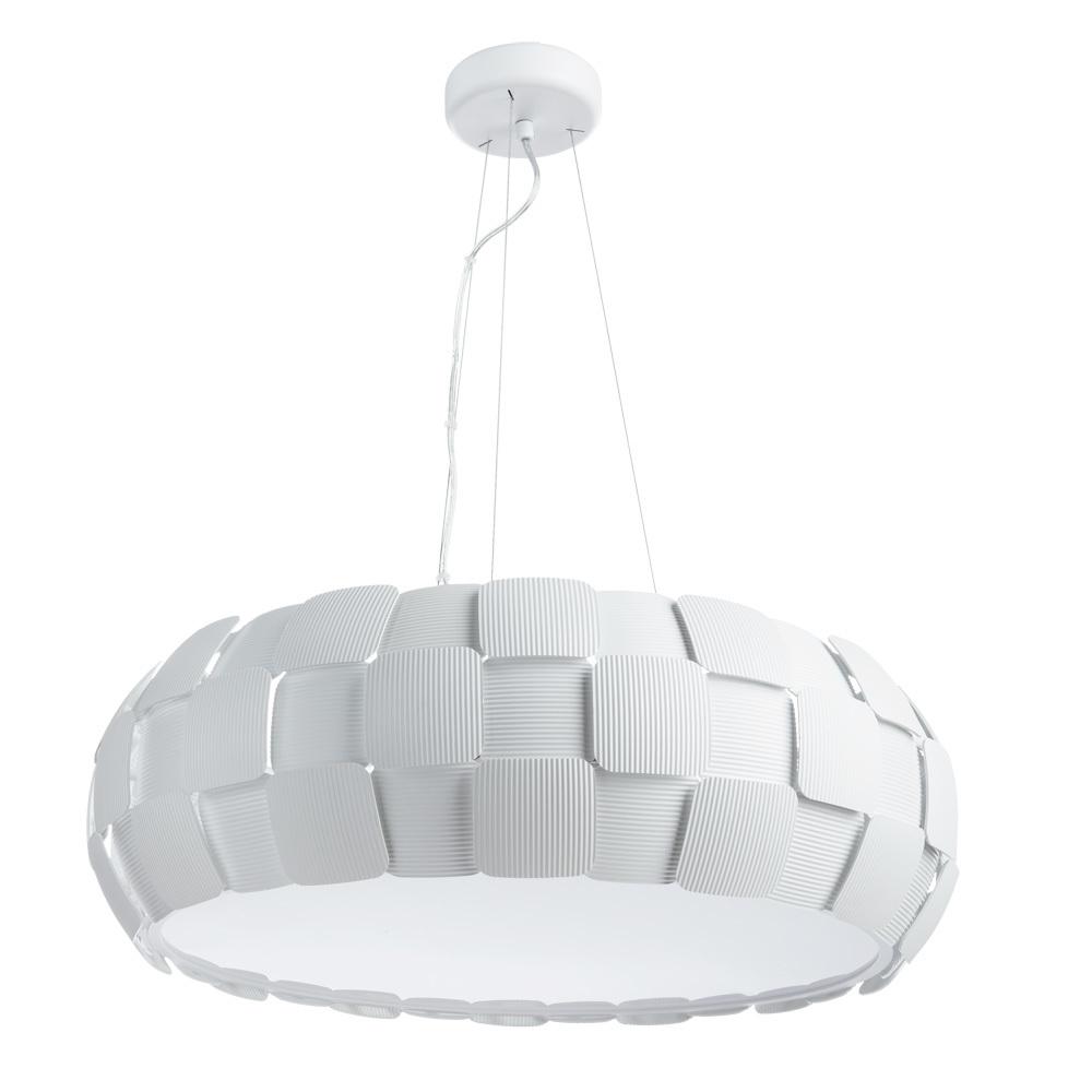 Подвесной светильник Divinare Beata 1317/21 SP-8, 8xE27x24W, белый, металл, пластик - фото 1