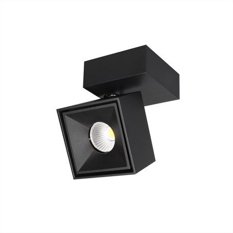 Потолочный светодиодный светильник с регулировкой направления света Citilux Стамп CL558021N, LED 8W 4000K 650lm, черный, металл