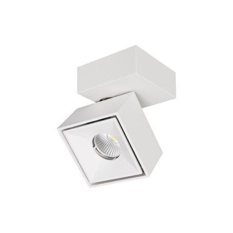 Потолочный светодиодный светильник с регулировкой направления света Citilux Стамп CL558020N, LED 8W 4000K 650lm, белый, металл