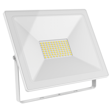 Светодиодный прожектор Gauss 613120300, IP65, LED 100W 6500K 7000lm, белый, металл, металл со стеклом