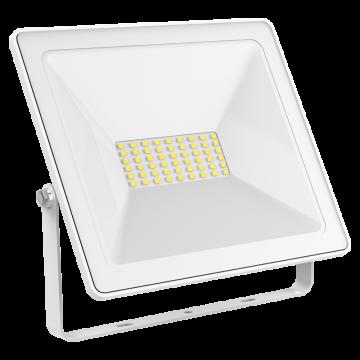 Светодиодный прожектор Gauss 613120370, IP65, LED 70W 6500K 4900lm, белый, металл, металл со стеклом