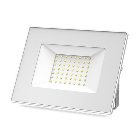 Светодиодный прожектор Gauss 613120350, IP65, LED 50W 6500K 3500lm, белый, металл, металл со стеклом