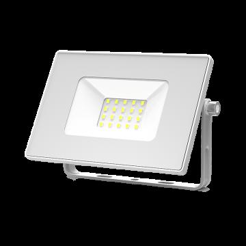 Светодиодный прожектор Gauss 613120320, IP65, LED 20W 6500K 1350lm, белый, металл, металл со стеклом