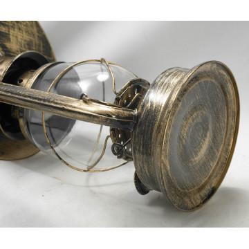 Подвесной светильник Lussole Loft Anchorage LSP-9518, IP21, 1xE27x60W, бронза, прозрачный, металл, металл со стеклом - миниатюра 4