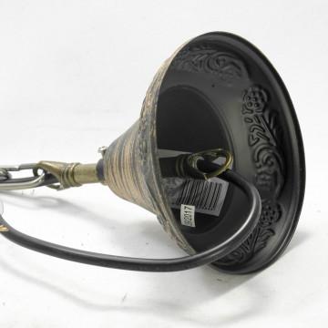 Подвесной светильник Lussole Loft Anchorage LSP-9518, IP21, 1xE27x60W, бронза, прозрачный, металл, металл со стеклом - миниатюра 8