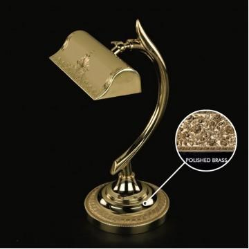 Настольная лампа Artglass NOEMI I. POLISHED, 1xE14x40W, золото, металл