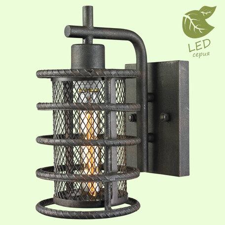 Бра Lussole Loft Eastchester GRLSP-9145, IP21, 1xE27x10W, черный, металл
