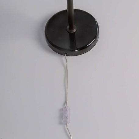 Настольная лампа Citilux Мартин CL332861, 6xE14x60W, венге, прозрачный, металл, хрусталь - миниатюра 2