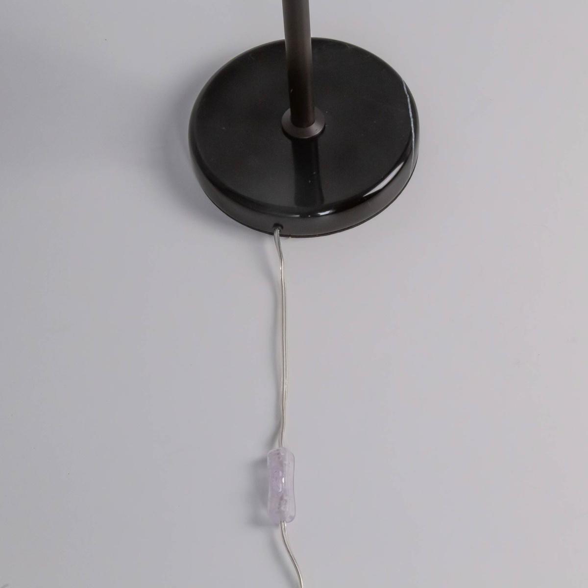 Настольная лампа Citilux Мартин CL332861, 6xE14x60W, венге, прозрачный, металл, хрусталь - фото 2