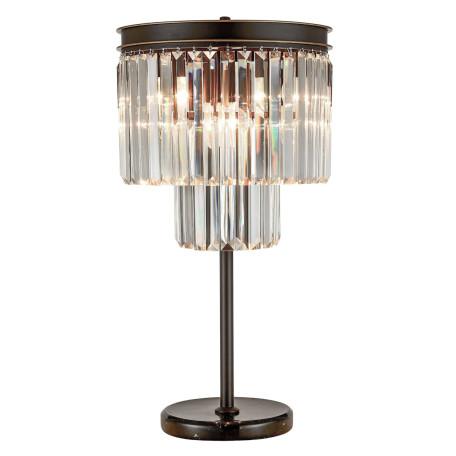 Настольная лампа Citilux Мартин CL332861, 6xE14x60W, венге, прозрачный, металл, хрусталь - миниатюра 3