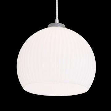 Подвесной светильник Citilux Меридиан CL946251, 1xE27x75W, хром, белый, металл, стекло - миниатюра 3