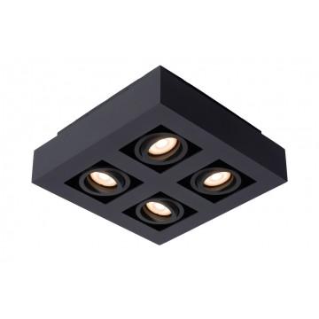 Потолочная люстра Lucide Xirax 09119/20/30, 4xGU10x5W, черный, металл