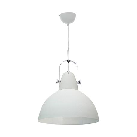 Подвесной светильник Zumaline Cande TS-110611P-WH, 1xE27x60W, белый, металл