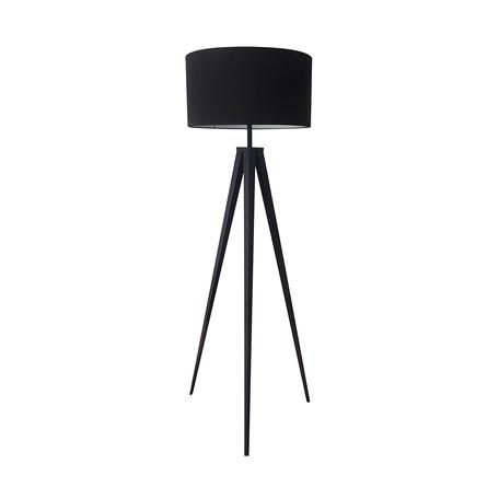 Торшер Zumaline Maresca TS-170429F-BK, 1xE27x60W, черный, металл, текстиль