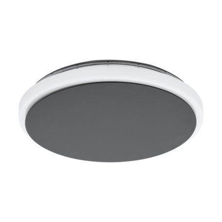 Настенный светодиодный светильник Eglo Mongodio 98712, IP44, LED 11,5W 3000K 1450lm, серый, металл, металл с пластиком