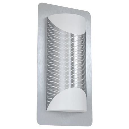 Настенный светильник Eglo Cistierna 1 98716, IP44, 2xE27x10W, сталь, металл, металл с пластиком
