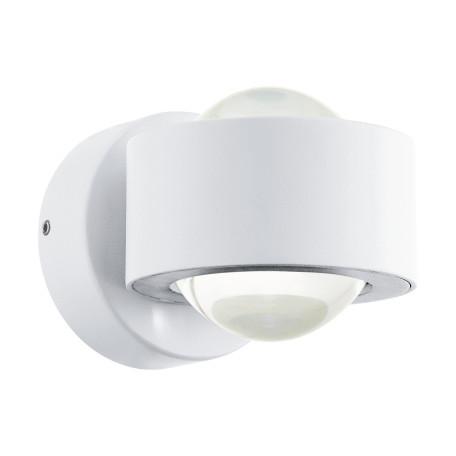 Настенный светодиодный светильник Eglo Treviolo 98747, IP44, LED 4W 3000K 460lm, белый, металл, металл со стеклом