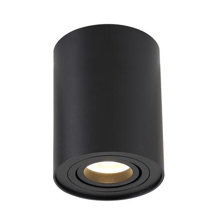 Потолочный светильник Crystal Lux CLT 410C1 BL 1400/154, 1xGU10x50W, черный, металл