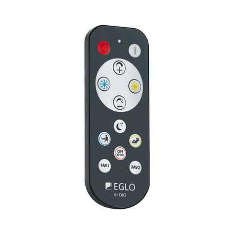 Пульт дистанционного управления Eglo Access Remote 33199, серый, пластик