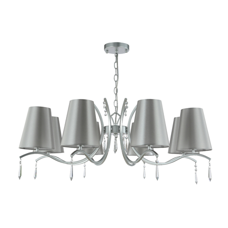 Светильник Crystal Lux RENATA SP8 SILVER 3590/308, 8xE14x60W