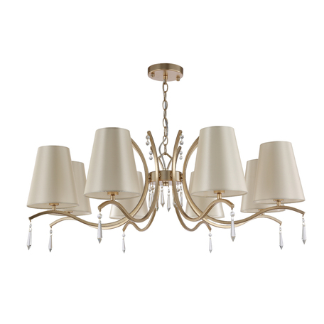 Светильник Crystal Lux RENATA SP8 GOLD 3591/308, 8xE14x60W