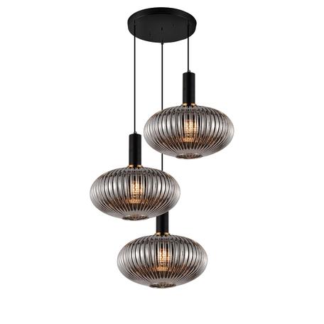 Подвесной светильник Lumina Deco LDP 1216-3 GY+BK