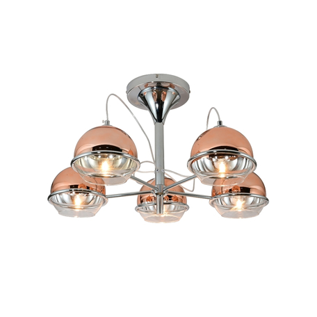 Потолочная люстра Lumina Deco LDC 1029-5 R.GD