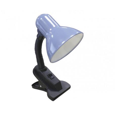 Светильник на прищепке Kink Light Рагана 07006,05, 1xE27x40W, черный, голубой, пластик, металл