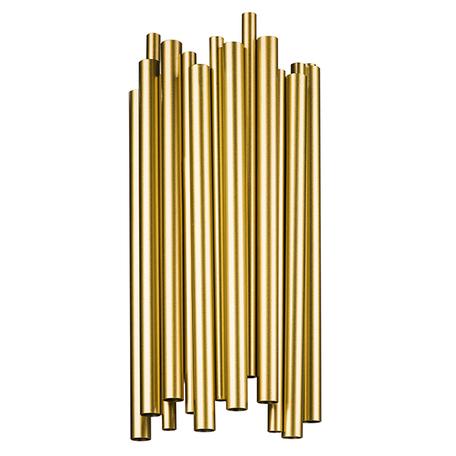 Настенный светильник Lightstar Savona 816622, 4xG9x40W, матовое золото, металл