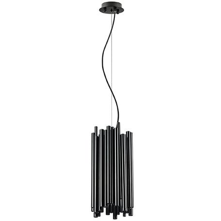 Подвесная люстра Lightstar Savona 816027, 6xG9x40W, черный, металл