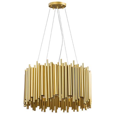 Подвесная люстра Lightstar Savona 816102, 10xG9x40W, золото, матовое золото, металл