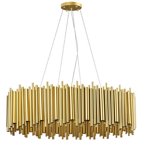 Подвесная люстра Lightstar Savona 816202, 20xG9x40W, золото, матовое золото, металл