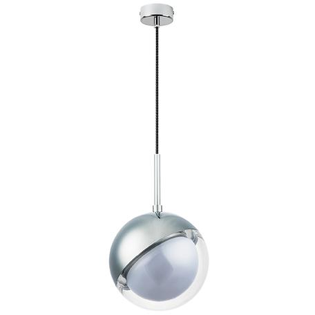 Подвесной светильник Lightstar Dafne 815514, 1xG9x5W, хром, металл, металл со стеклом