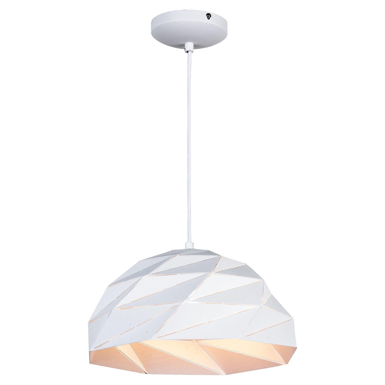 Подвесной светильник Lussole Loft Hoover LSP-9531, IP21, 1xE27x60W, белый, металл - фото 1