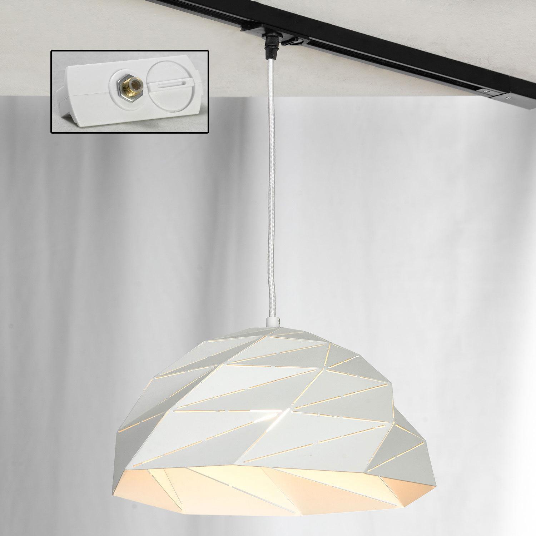 Подвесной светильник Lussole Loft Hoover LSP-9531, IP21, 1xE27x60W, белый, металл - фото 3