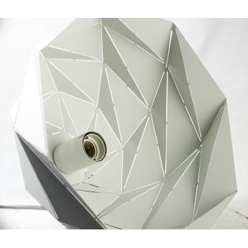 Подвесной светильник Lussole Loft Hoover LSP-9531, IP21, 1xE27x60W, белый, металл - миниатюра 5
