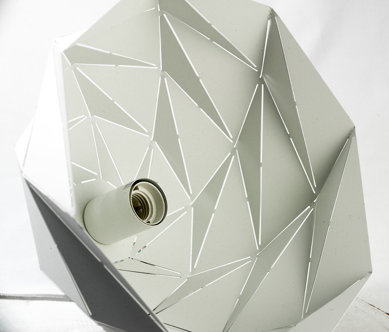 Подвесной светильник Lussole Loft Hoover LSP-9531, IP21, 1xE27x60W, белый, металл - фото 5