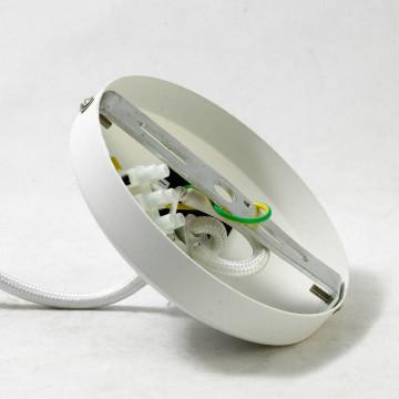 Подвесной светильник Lussole Loft Hoover LSP-9531, IP21, 1xE27x60W, белый, металл - миниатюра 7