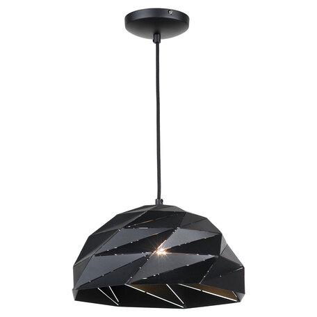 Подвесной светильник Lussole Loft Hoover LSP-9532, IP21, 1xE27x60W, черный, металл