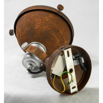 Потолочный светильник с регулировкой направления света Lussole Loft Huntsville LSP-9501, IP21, 1xE14x40W, коричневый, металл - миниатюра 4