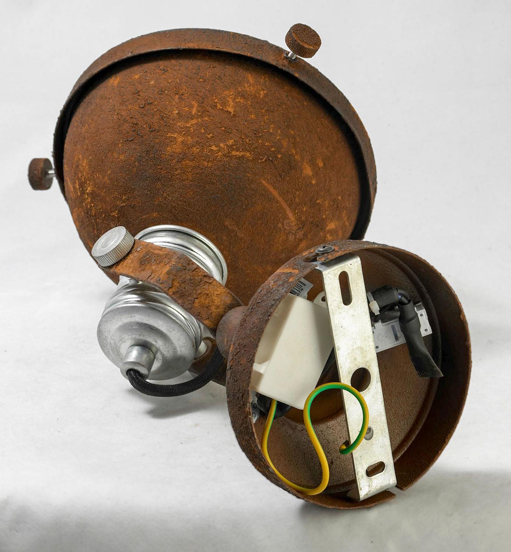 Потолочный светильник с регулировкой направления света Lussole Loft Huntsville LSP-9501, IP21, 1xE14x40W, коричневый, металл - фото 4