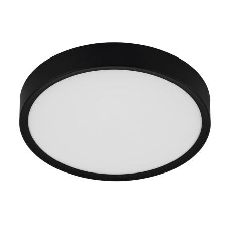 Светодиодный светильник Eglo Musurita 98603, LED 16,8W 3000K 2000lm, черный с белым, пластик