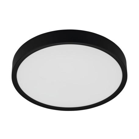 Светодиодный светильник Eglo Musurita 98604, LED 33,5W 3000K 3900lm, черный с белым, пластик