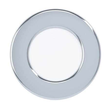 Светодиодный светильник Eglo Fueva 5 99204, IP44, LED 2,7W 3000K 300lm, хром с белым, металл с пластиком, пластик с металлом
