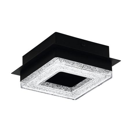 Светодиодный светильник Eglo Fradelo 1 99324, LED 4W 3000K 400lm, черный, белый, металл, пластик