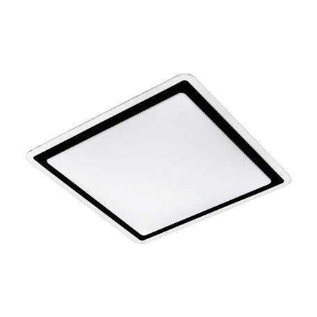 Светодиодный светильник Eglo Competa 2 99405, LED 24W 3000K 2600lm CRI>80, белый, черный с белым, металл, пластик