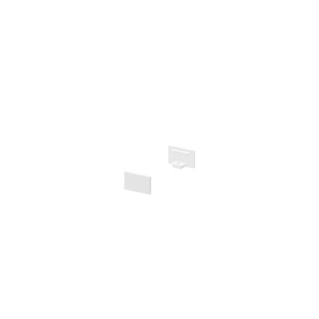 Концевая заглушка для профиля для светодиодной ленты SLV GRAZIA 10 1000476, белый, металл