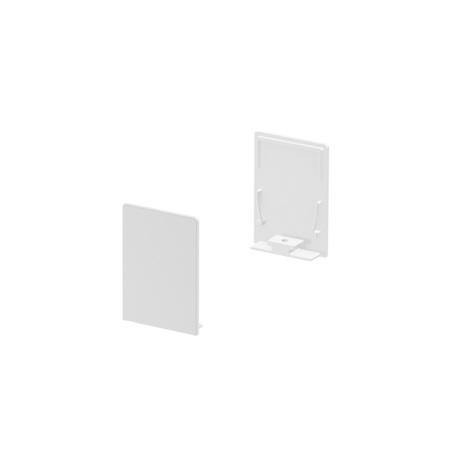 Концевая заглушка для профиля для светодиодной ленты SLV GRAZIA 20 1000569, белый, металл