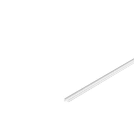 Профиль для светодиодной ленты без рассеивателя SLV GRAZIA 10 1000461, белый, металл